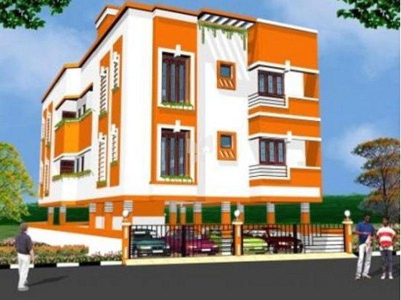 Mahayogam Sakshi Apartments - Elevation Photo