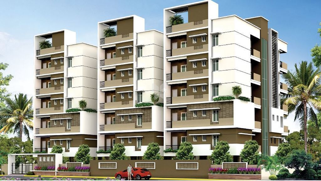 VSR Vaibhav Apartments - Elevation Photo