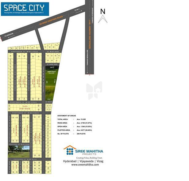 Sree Mahitha Space City - Elevation Photo