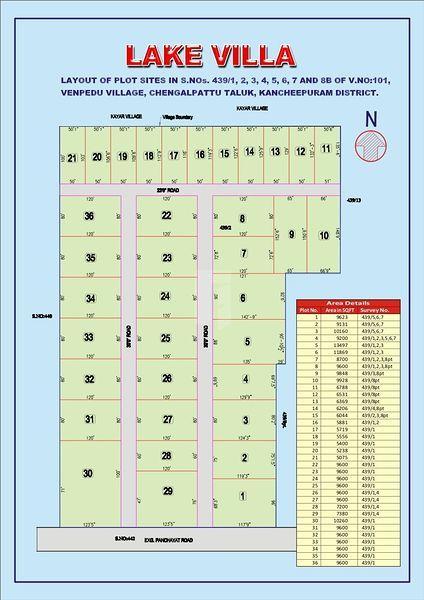 LakeVilla - Master Plan