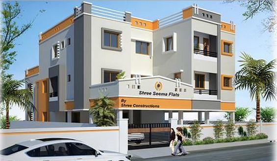 Shree Seema Flats - Elevation Photo