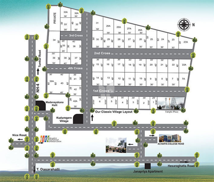 AK Maxx Classic Village - Master Plan