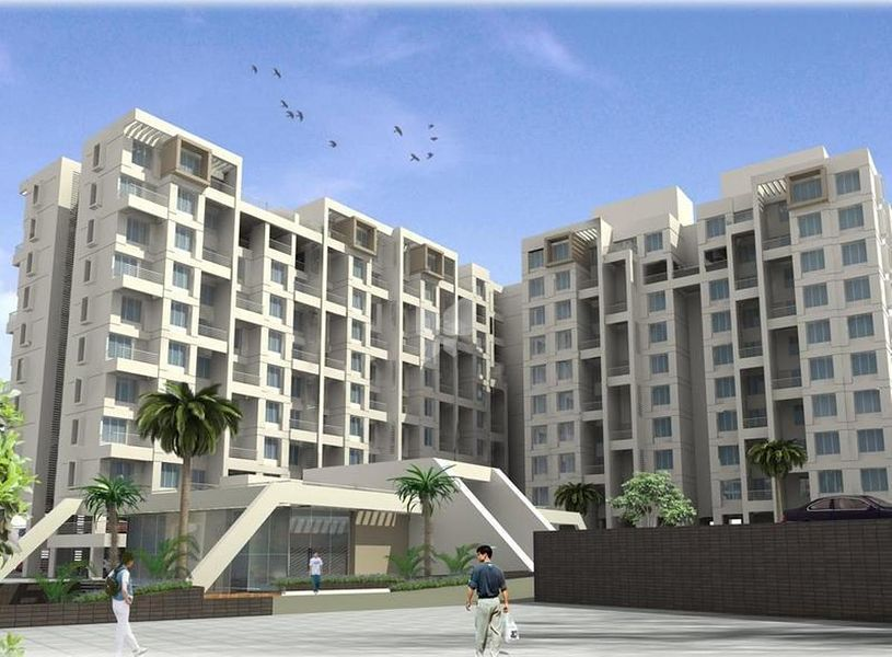 BK Jhala Simpli City Phase II - Elevation Photo