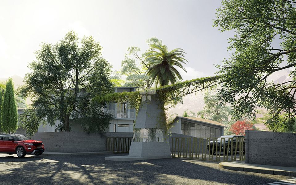 Capricorn Alta Monte Row Houses - Elevation Photo