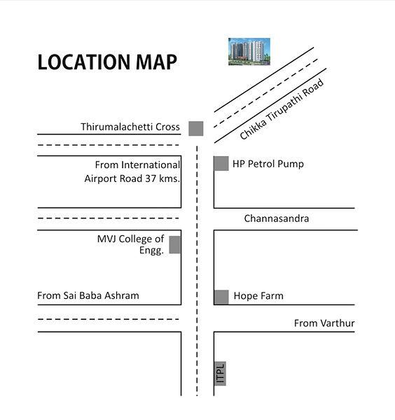 Samethana Lakefront  - Location Map