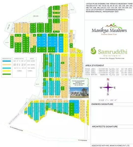 Samruddhi Manikya Meadows - Master Plan