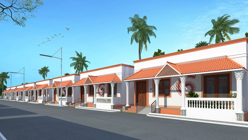 Aditya Sowbhagyam Homes - Elevation Photo